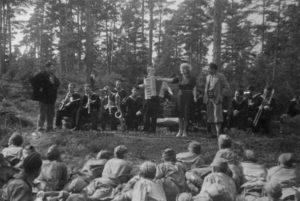 Концерт на фронте. Остров Лавенсаари. 1941