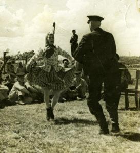 Выступление концертных бригад ТКБФ. 1941 г.