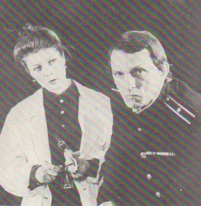 А.Крон. Второе дыхание. 1980. Н. Перевозчикова (Лебедева) и Г. Бедностин (Бакланов)
